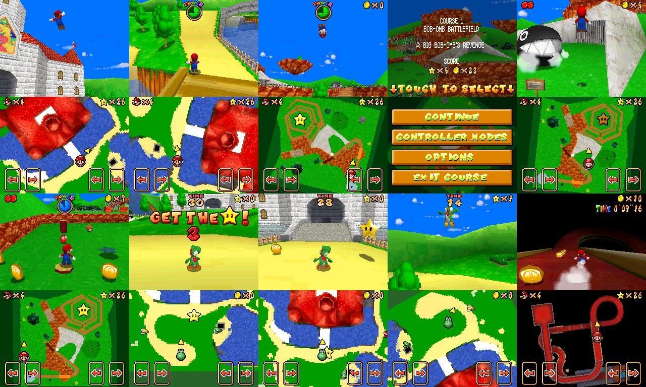 The NSMB Hacking Domain » Super Mario 64x4 Beta Replica