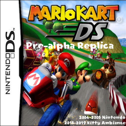 The Nsmb Hacking Domain Mario Kart Ds E3 2004 Version Replica