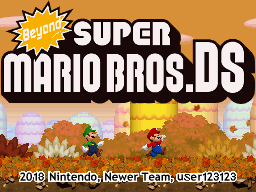 The NSMB Hacking Domain » Beyond Super Mario Bros  DS