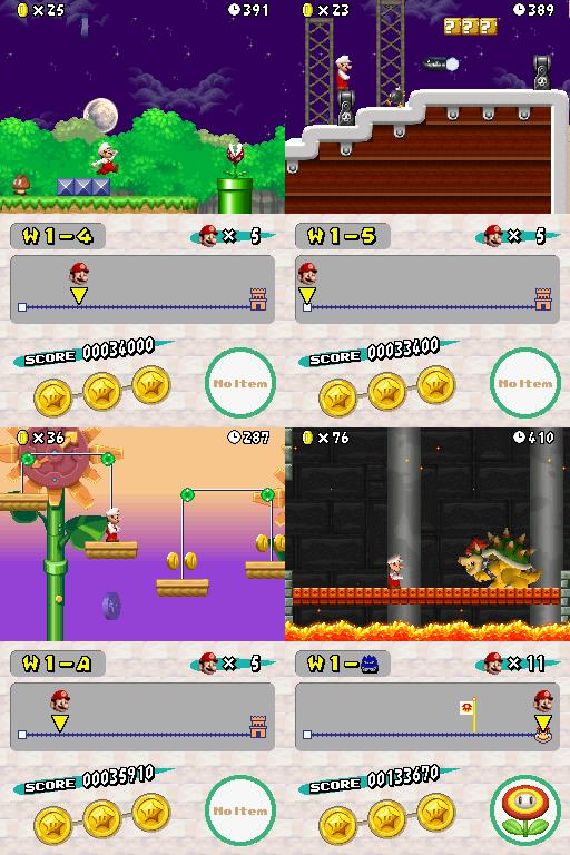 The NSMB Hacking Domain » New Super Mario Bros DSi