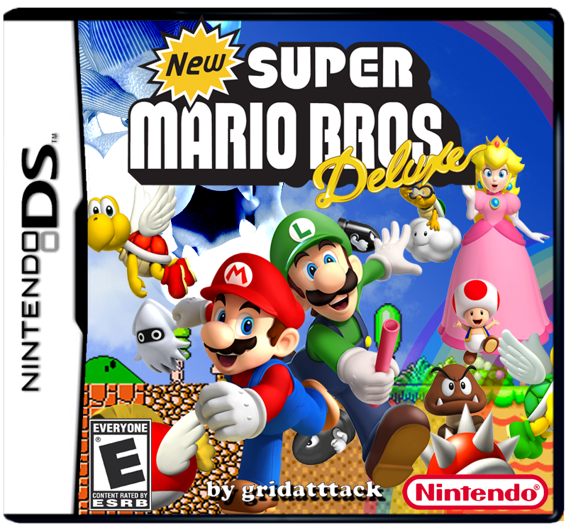 new super mario bros deluxe is a full new super mario bros hack which
